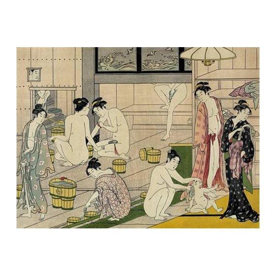 cuadros etnicos y oriente - Cuadro -Bathhouse women-