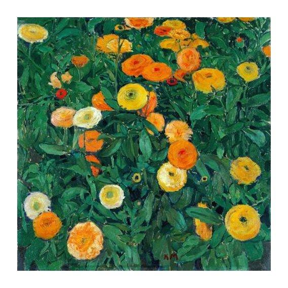 cuadros de flores - Cuadro -Caléndulas (Marigolds)-