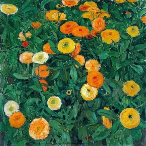 Cuadro -Caléndulas (Marigolds)-
