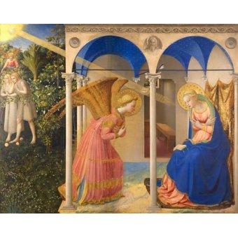 - Cuadro -La Anunciación- - Fra Angelico, G. Da Fisole