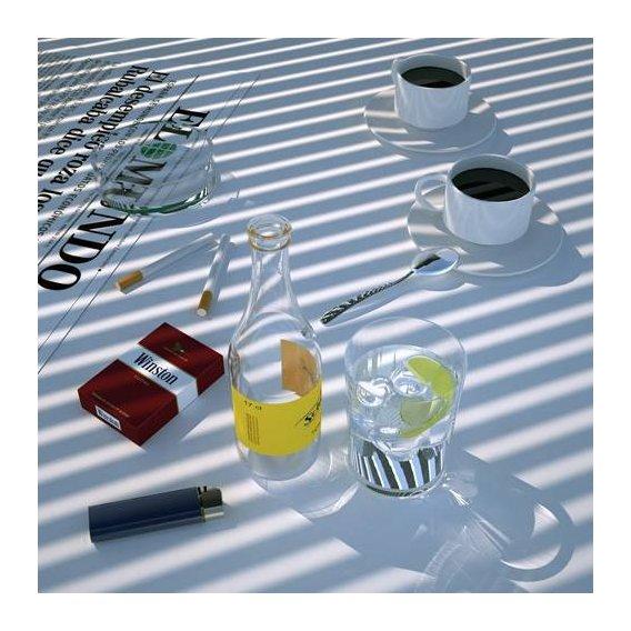 cuadros de bodegones - Cuadro -Desayuno español-