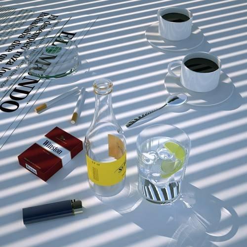 Cuadro -Desayuno español-