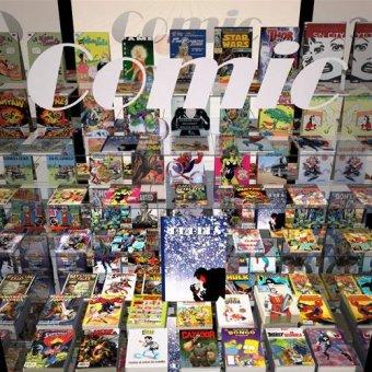 - Cuadro -La tienda del comic- - Aguirre Vila-Coro, Juan