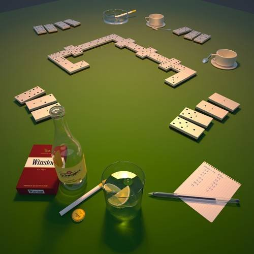 cuadros modernos - Cuadro -Domino-