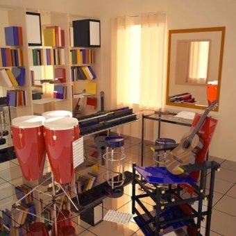 - Cuadro -El cuarto de Javier- - Aguirre Vila-Coro, Juan