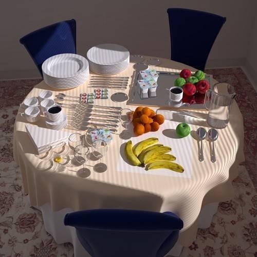 cuadros modernos - Cuadro -Bufet-