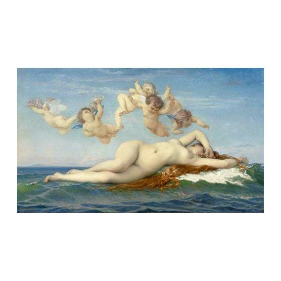 cuadros de desnudos - Cuadro -El Nacimiento de Venus-