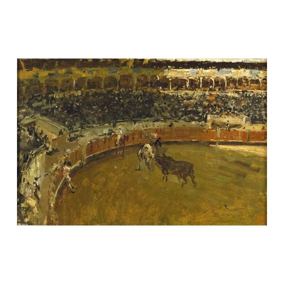 cuadros de fauna - Cuadro -La corrida de toros-