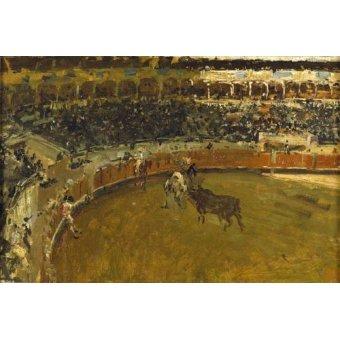 cuadros de fauna - Cuadro -La corrida de toros- - Fortuny y Marsal, Mariano