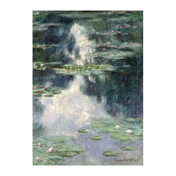 cuadros de paisajes - Cuadro -Pond with Water Lilies, 1907-