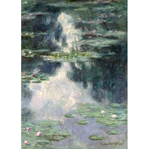Cuadro -Pond with Water Lilies, 1907-