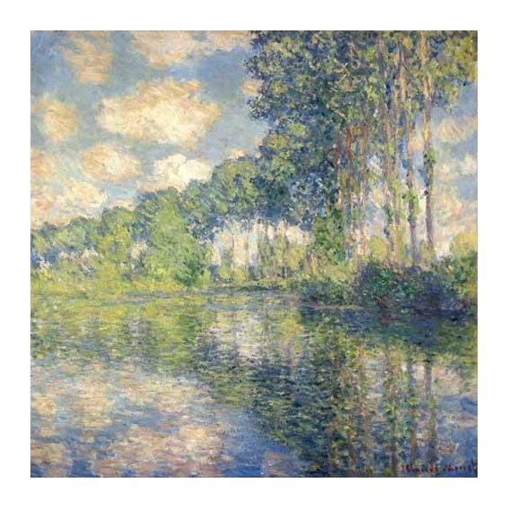 cuadros de paisajes - Cuadro -Poplars on the Epte-