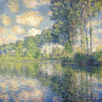 Cuadro -Poplars on the Epte-