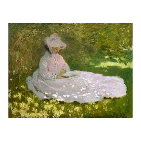 cuadros de paisajes - Cuadro -Primavera, 1872-