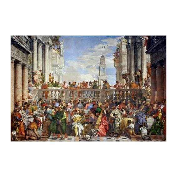cuadros religiosos - Cuadro -Las Bodas de Caná, 1563-