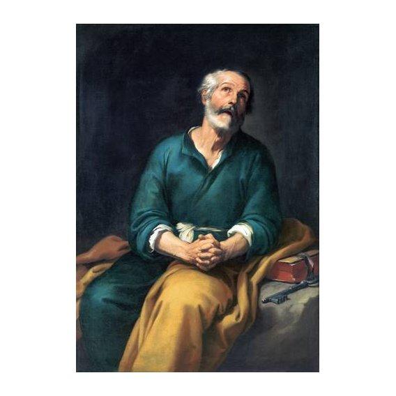 cuadros religiosos - Cuadro -San Pedro en lágrimas-