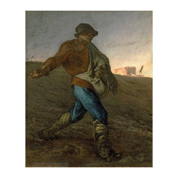cuadros de retrato - Cuadro -El Sembrador-