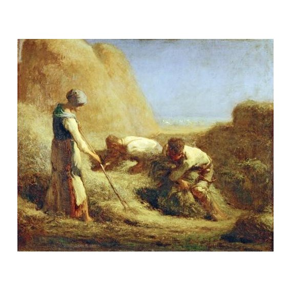 cuadros de retrato - Cuadro -Les Batteleurs, 1850-