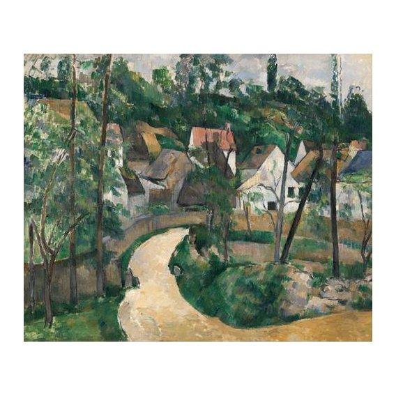 cuadros de paisajes - Cuadro -Turn in the Road, 1881-