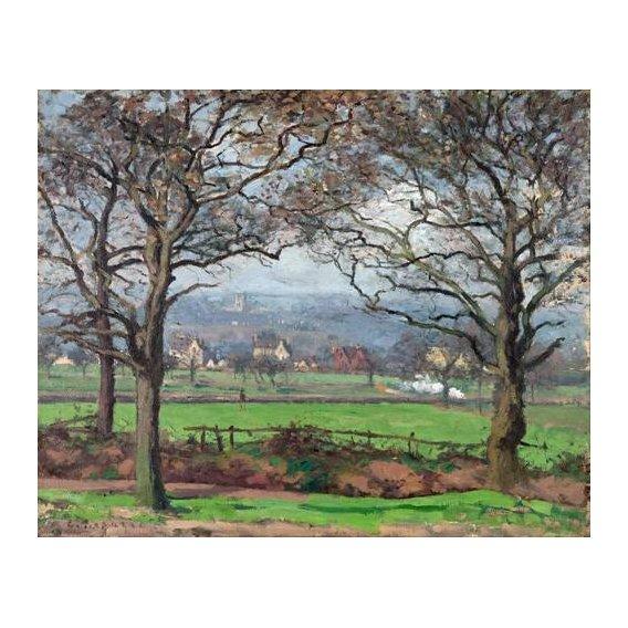 cuadros de paisajes - Cuadro -Near Sydenham Hill-