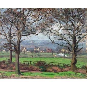 - Cuadro -Near Sydenham Hill- - Pissarro, Camille