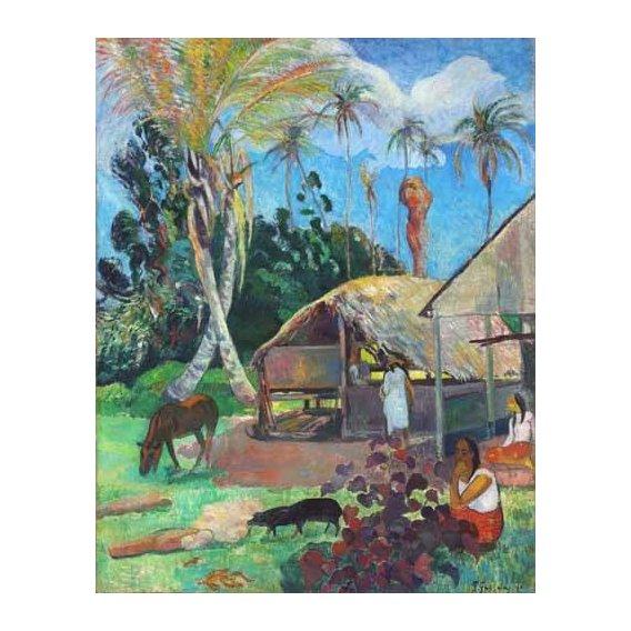 cuadros de paisajes - Cuadro -The Black Pigs-