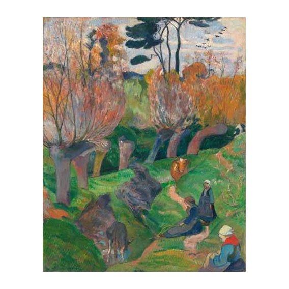 cuadros de paisajes - Cuadro -Paisaje en Bretaña-