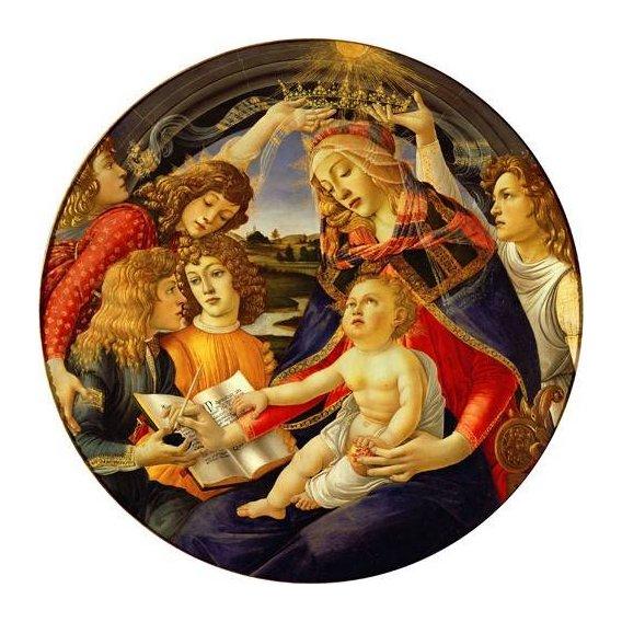 cuadros religiosos - Cuadro -La Virgen Del Magnificat-