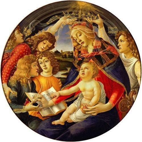 Cuadro -La Virgen Del Magnificat-