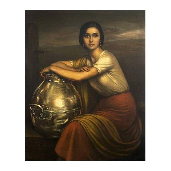 cuadros de retrato - Cuadro -Fuensanta-