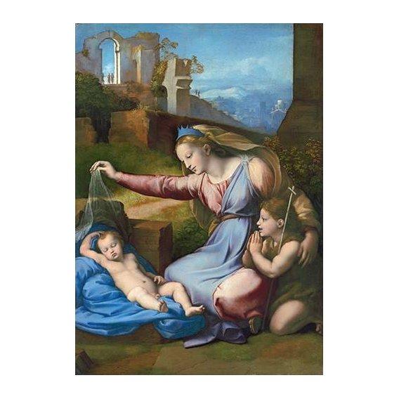cuadros religiosos - Cuadro -La Virgen Del Velo-