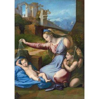 - Cuadro -La Virgen Del Velo- - Rafael, Sanzio da Urbino Raffael