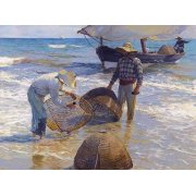 Cuadro -Los pescadores valencianos-