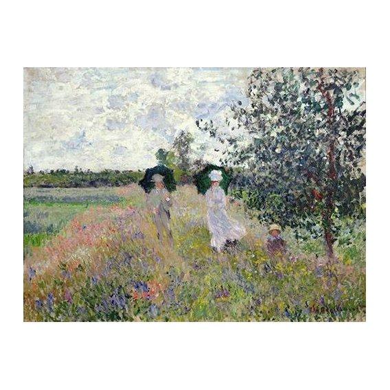 cuadros de paisajes - Cuadro -Promenade pres d'Argenteuil, 1873-