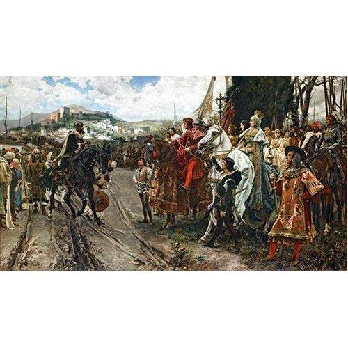 Cuadro -La Rendición de Granada-
