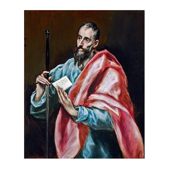 cuadros religiosos - Cuadro -San Pablo-