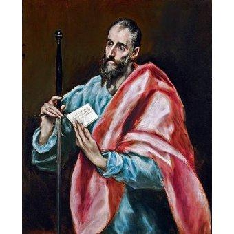 - Cuadro -San Pablo- - Greco, El (D. Theotocopoulos)