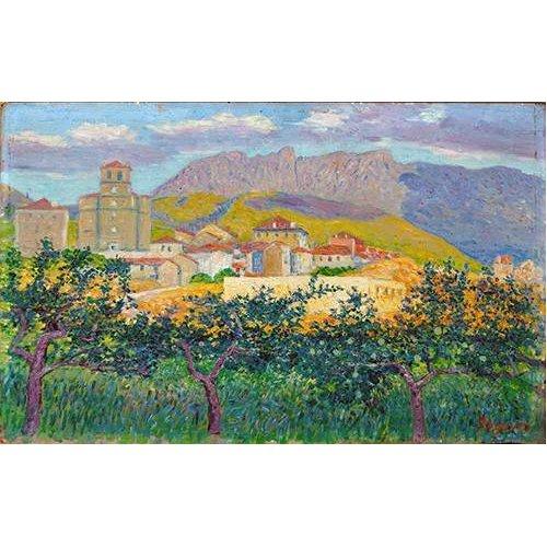 cuadros de paisajes - Cuadro -Oyarzum-