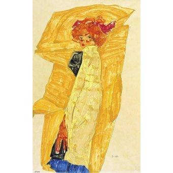 - Cuadro -Alb Wien- - Schiele, Egon