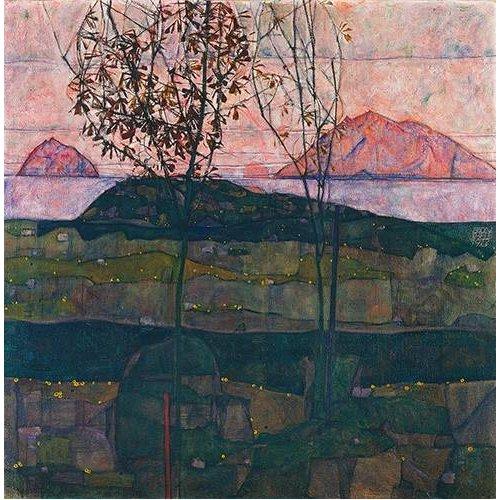 Cuadro -Setting Sun, 1913-