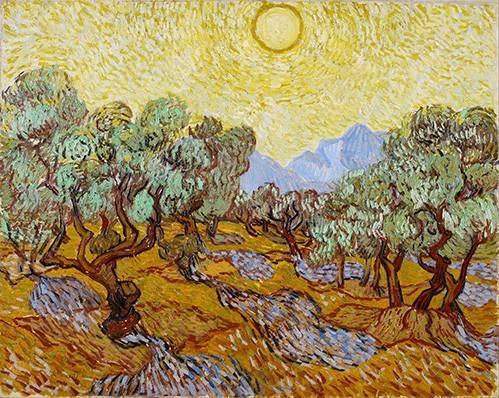 cuadros-de-paisajes - Cuadro -Olive Trees- - Van Gogh, Vincent