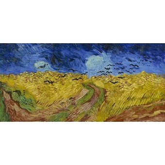 - Cuadro -Wheatfield with Crows, 1890- - Van Gogh, Vincent