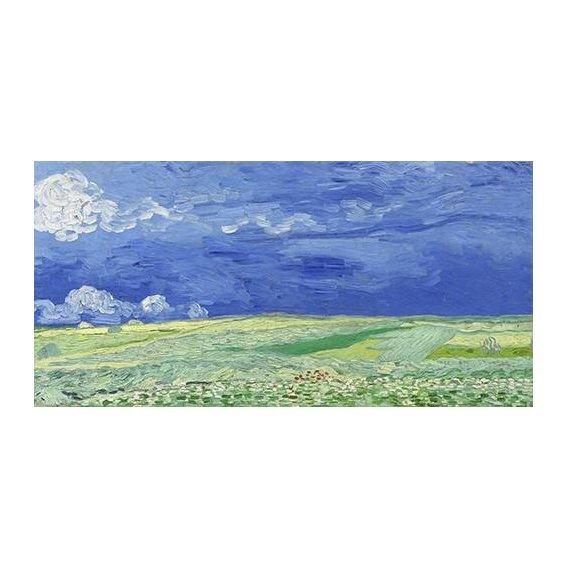 cuadros de paisajes - Cuadro -Wheatfield under Thunderclouds-