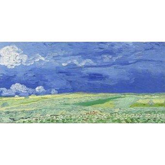 - Cuadro -Wheatfield under Thunderclouds- - Van Gogh, Vincent