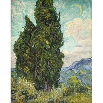 - Cuadro -Cipreses- - Van Gogh, Vincent