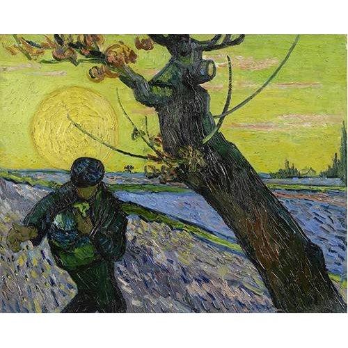 cuadros de paisajes - Cuadro -El Sembrador, 1888-