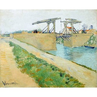- Cuadro -The Langlois bridge, 1888- - Van Gogh, Vincent