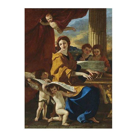 cuadros religiosos - Cuadro -Santa Cecilia-