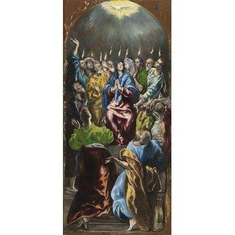 - Cuadro -Pentecostés, 1597- - Greco, El (D. Theotocopoulos)