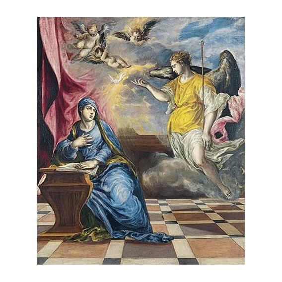 cuadros religiosos - Cuadro -La Anunciación, 1576-